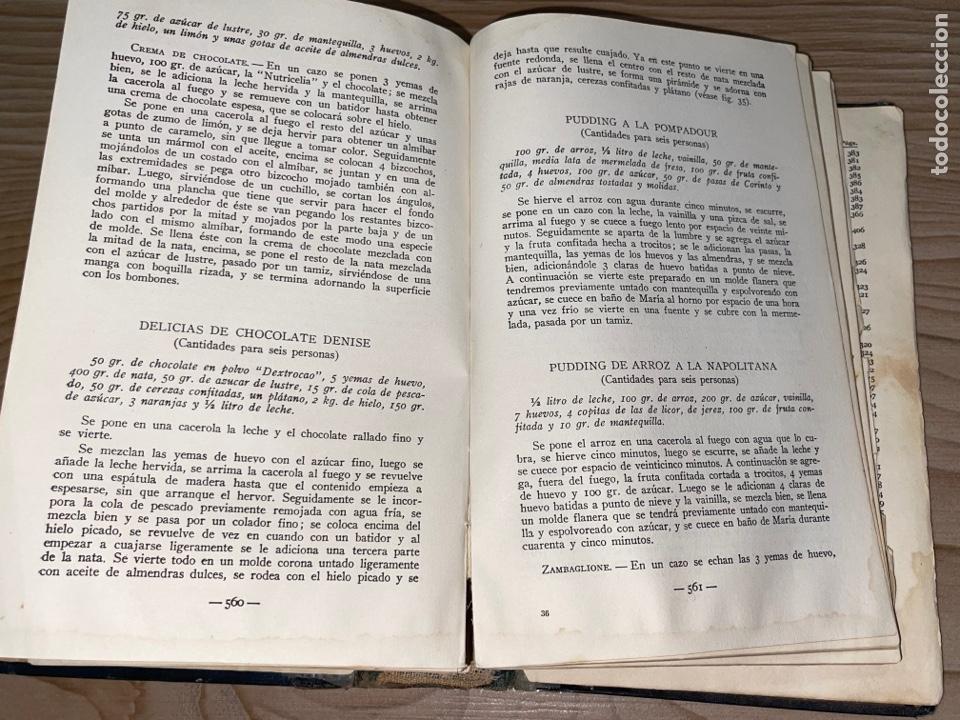 Libros antiguos: L- Culinaria. Nuevo teatado de cocina. Mil recetas de cocina, repostería y pastelería. 2a edición - Foto 17 - 277144643