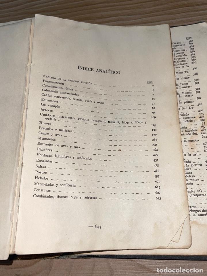 Libros antiguos: L- Culinaria. Nuevo teatado de cocina. Mil recetas de cocina, repostería y pastelería. 2a edición - Foto 19 - 277144643