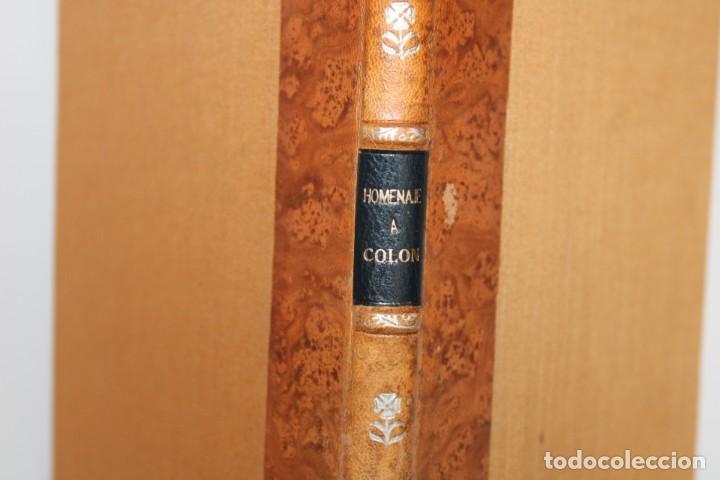 Libros antiguos: 1892 HOMENAJE DEL ARCHIVO HISPALENSE AL CUARTO CENTENARIO DEL DESCUBRIMIENTO DEL NUEVO MUNDO - Foto 2 - 277177023
