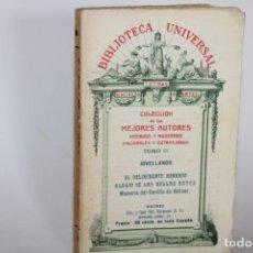 Libros antiguos: JOVELLANOS,OBRAS VARIAS / BIBLIOTECA UNIVERSAL / COLECCION DE LOS MEJORES AUTORES. Lote 277192828