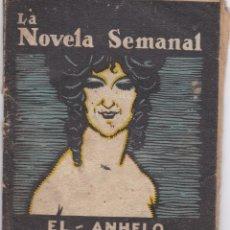 """Libros antiguos: CARMEN DE BURGOS """"COLOMBINA"""": EL ANHELO. Lote 277218028"""