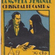 Libros antiguos: CRISTOBAL CASTRO: EL PARAISO PERDIDO. Lote 277218778