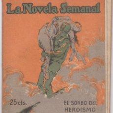 Libros antiguos: GABRIEL ALOMAR: EL SORBO DEL HEROISMO. Lote 277218863