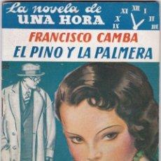 Libros antiguos: FRANCISCO CAMBA: EL PINO Y LA PALMERA. Lote 277220588
