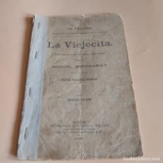 Libros antiguos: LA VIEJECITA. ZARZUELA COMICA. MIGUEL ECHEGARAY. 1898. IMPRENTA DE VELA Y LOPEZ. 49 PAGS.. Lote 277245463