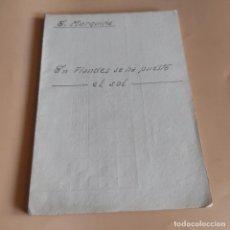 Libros antiguos: EN FLANDES SE HA PUESTO EL SOL. EDUARDO MARQUINA. 1910. 116 PAGS.. Lote 277245658