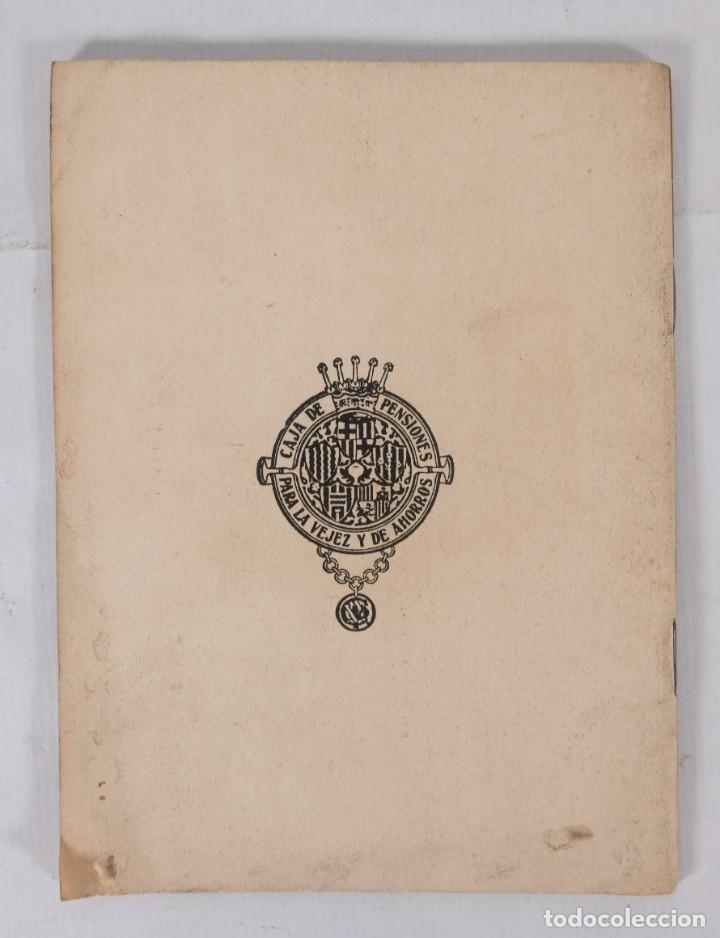 Libros antiguos: El abuelo - Jesús R.Coloma - Caja de pensiones para la vejez y de ahorros 1935 - Foto 2 - 277284728