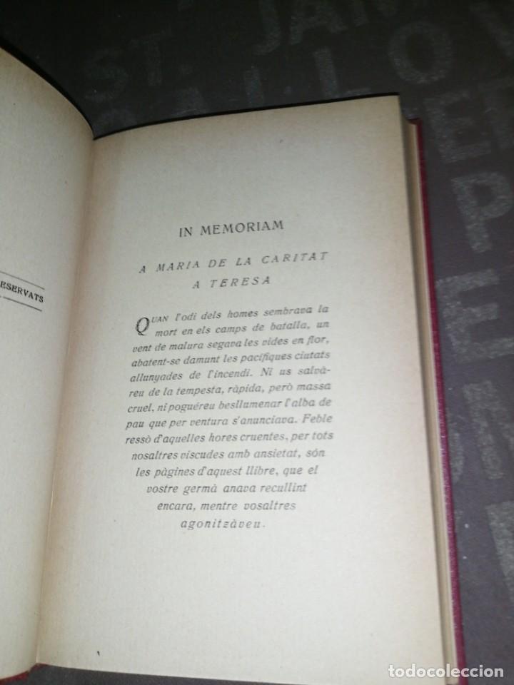 Libros antiguos: A. MASERAS - EL LLIBRE DE LES HORES CRUENTES SOCIETAT CATALANA DEDICIONS 1921 - Foto 2 - 277542063