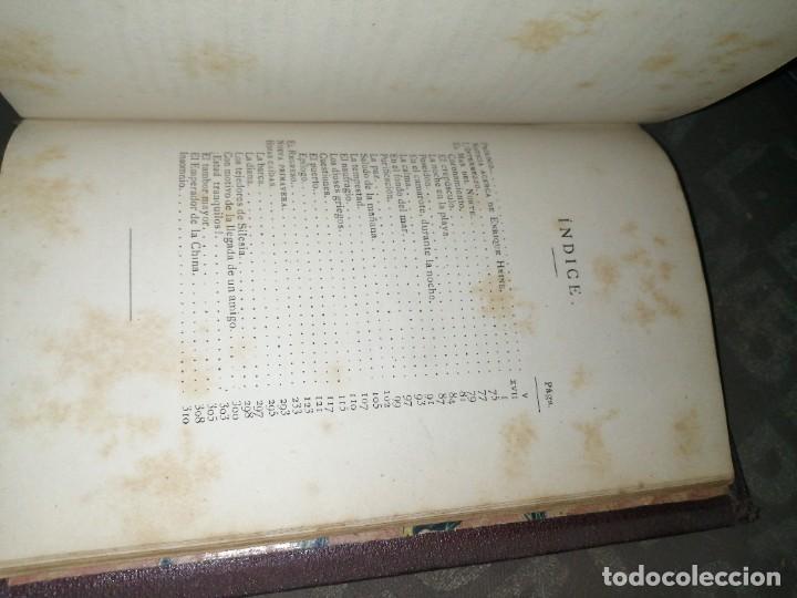 Libros antiguos: Enrique heine - poemas y fantasías 1883, luis navarro editor - Foto 5 - 277542638