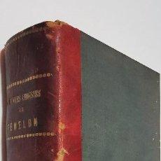 Libros antiguos: OEUVRES CHOISIES, TOME I Y II FENELON AÑO 1865 Y 1862. Lote 277567673