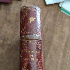 Libros antiguos: H° DE GIL BLAS. 1856. ESTANISLAO DE LA PEÑA. Lote 277594768