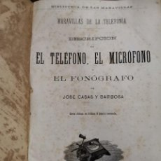 Libros antiguos: L-6022. BIBLIOTECA DE LAS MARAVILLAS. 15 TITULOS. EDICION ILUSTRADA. FINALES S.XIX.. Lote 277608433