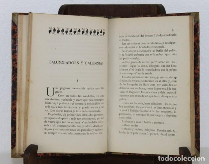 Libros antiguos: Escenas de la vida pagesa per Joaquim Riera. Impr. de la Renaixensa 1878 - Foto 3 - 277612628