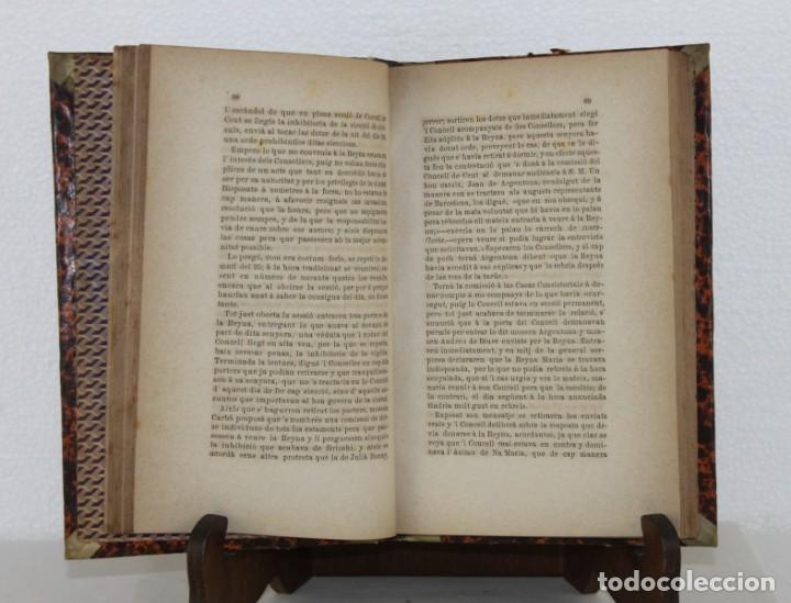 Libros antiguos: Barcelona son passat, present y porvenir. Memoria histórica. Salvador Sanpere. Renaixensa 1878 - Foto 2 - 277613363