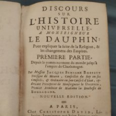 Livres anciens: DISCOURS SUR LHISTOIRE UNIVERSELLE DE 1830, LIBRO RARO. Lote 277614963