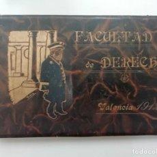 Libros antiguos: LIBRO ORLA FACULTAD DE DERECHO VALENCIA 1912. CARICATURAS DE GALVÁN. RARO OCASIÓN. Lote 277627518