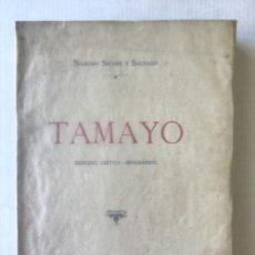 Libros antiguos: D. MANUEL TAMAYO Y BAUS. ESTUDIO CRÍTICO-BIOGRÁFICO. - SICARS Y SALVADÓ, NARCISO.. Lote 123248231