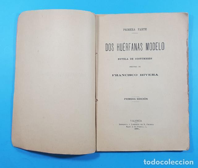 Libros antiguos: EL PASATIEMPO, FRANCISCO RIVERA ALFEREZ DE CAZADORES DE SEGORBE, VALENCIA 1ª ED 1885 101 PAG - Foto 3 - 278178308