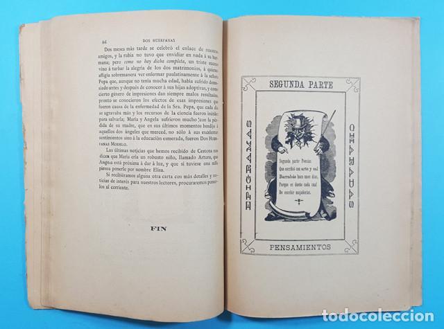 Libros antiguos: EL PASATIEMPO, FRANCISCO RIVERA ALFEREZ DE CAZADORES DE SEGORBE, VALENCIA 1ª ED 1885 101 PAG - Foto 4 - 278178308