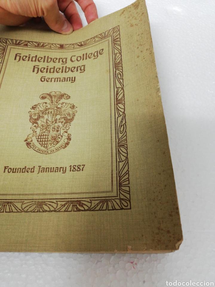 Libros antiguos: Libro Alemán Heidelberg College. Germany. Founded January. 1887. - Foto 2 - 278349128
