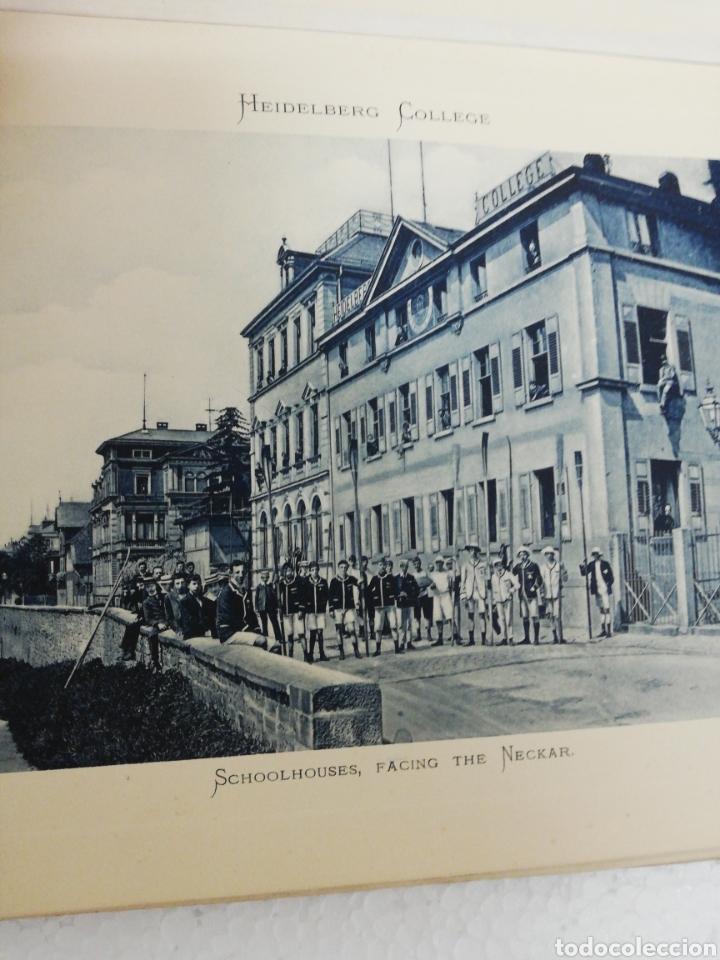 Libros antiguos: Libro Alemán Heidelberg College. Germany. Founded January. 1887. - Foto 6 - 278349128