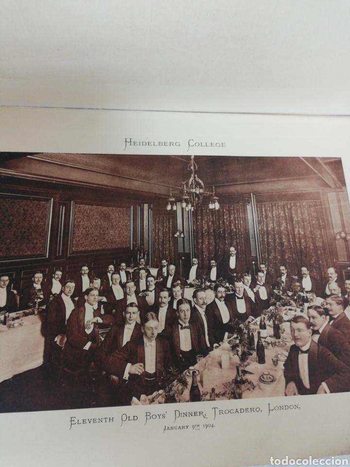 Libros antiguos: Libro Alemán Heidelberg College. Germany. Founded January. 1887. - Foto 8 - 278349128