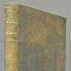 Libros antiguos: GUIA PRACTICA DE SANTANDER Y SU PROVINCIA. DUMARCO. Lote 278366223