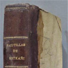 Libros antiguos: 1901.- PACOTILLAS. ESTRAÑI. Lote 278449853
