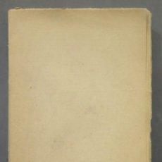 Libros antiguos: 1930.- MENÉNDEZ PELAYO Y SUS IDEAS, POR EDMUNDO GONZÁLEZ BLANCO. Lote 278454003