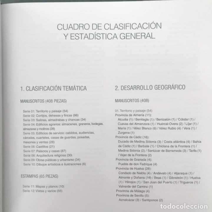 Libros antiguos: Archivo General. Fundación Casa Medina Sidonia. Mapas, Planos y Dibujos de Andalucía. Guía Temática - Foto 7 - 278529098
