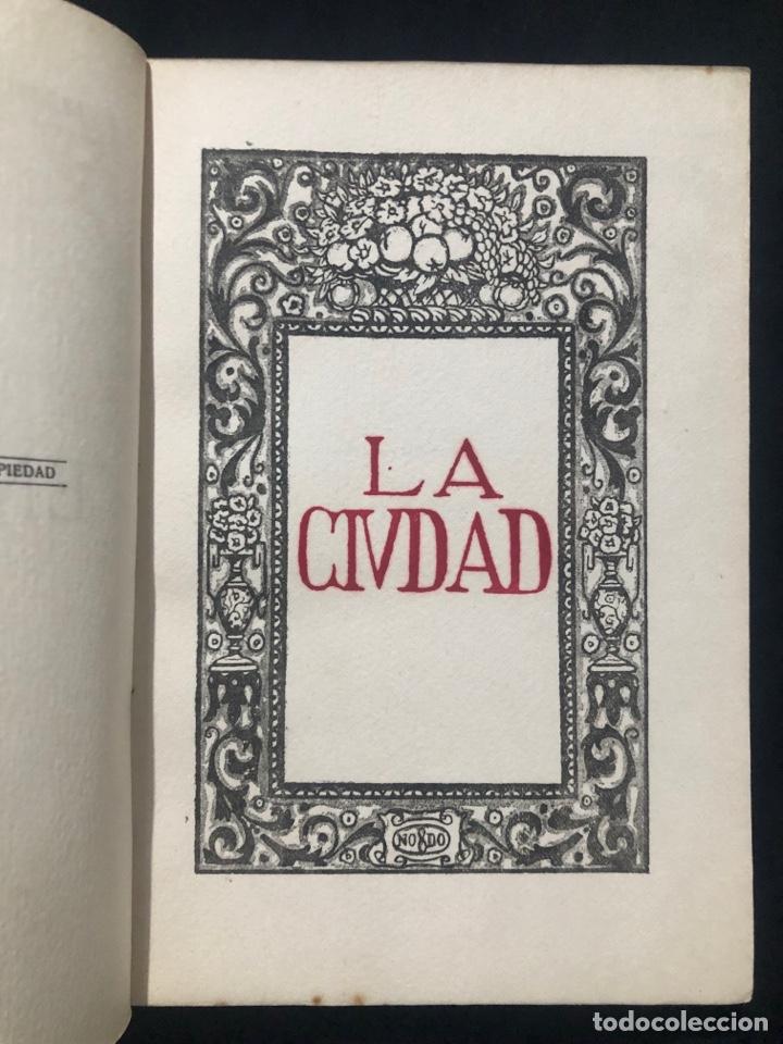 Libros antiguos: Manuel Chaves Nogales. La Ciudad. Ensayos. Sevilla. 1921. Córdoba. Talleres La Voz de Córdoba. - Foto 3 - 278532558