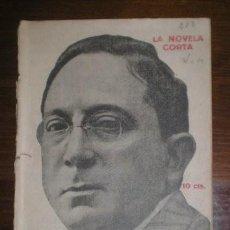 Libros antiguos: VARGAS VILA, J.M: DESIDERIO. MADRID, LA NOVELA CORTA Nº282 1921. PRIMERA EDICIÓN. Lote 278609563