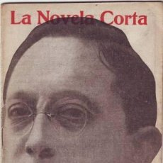 Libros antiguos: VARGAS VILA, J.M: EL ALMA DE LA RAZA. MADRID, LA NOVELA CORTA Nº30 1916. PRIMERA EDICIÓN. Lote 278611633