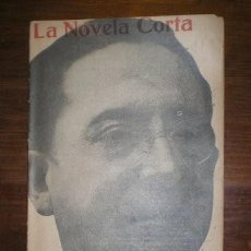 Libros antiguos: VARGAS VILA, J.M: EL MEDALLON. MADRID, LA NOVELA CORTA Nº125 1918. PRIMERA EDICIÓN. Lote 278612163