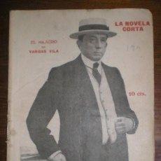 Libros antiguos: VARGAS VILA, J.M: EL MILAGRO. MADRID, LA NOVELA CORTA Nº190 1919. PRIMERA EDICIÓN. Lote 278614098