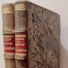 Libros antiguos: DIÓGENES LAERCIO: VIDAS, OPINIONES Y SENTENCIAS DE LOS FILÓSOFOS MÁS ILUSTRES. 2 TOMOS, 1922. Lote 278842208