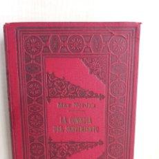 Libros antiguos: LA COMEDIA DEL SENTIMIENTO. MAX NORDAN. SEMPERE Y CIA, 1910.. Lote 278883213