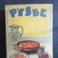 Libros antiguos: PYSBE. RECETAS DE BACALAO. TALLERES OFFSET, SAN SEBASTIÁN, 1936. ILUSTRACIONES PENAGOS.. Lote 278928493