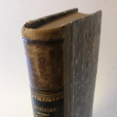 Libros antiguos: 1875 - CANALEJAS - DOCTRINAS RELIGIOSAS DEL RACIONALISMO CONTEMPORÁNEO. Lote 278957838