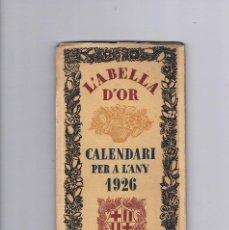 Libros antiguos: CALLENDARI PER A L ANY 1926 BARCELONA OBSEQUI DE LA SASTRERIA VILARDELL. Lote 278974623