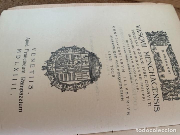 Libros antiguos: Controversias Fundamentales y otras de más Frecuente uso, cuatro tomos - Foto 7 - 279448243