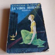Libros antiguos: LA VIRGEN PRUDENTE. CONCHA ESPINA. 1ª EDICION 1929. IBERO-AMERICANA PUBLICACIONES. 310PAGS.. Lote 279469958
