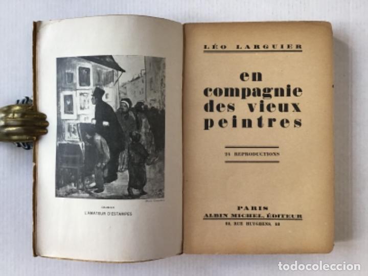 Libros antiguos: EN COMPAGNIE DES VIEUX PEINTRES. - LARGUIER, Léo. - Foto 2 - 123206647