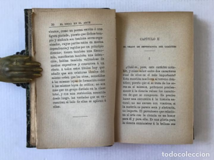 Libros antiguos: EL IDEAL EN EL ARTE. - TAINE, Hipólito. - Foto 3 - 123251147