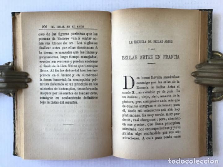 Libros antiguos: EL IDEAL EN EL ARTE. - TAINE, Hipólito. - Foto 4 - 123251147