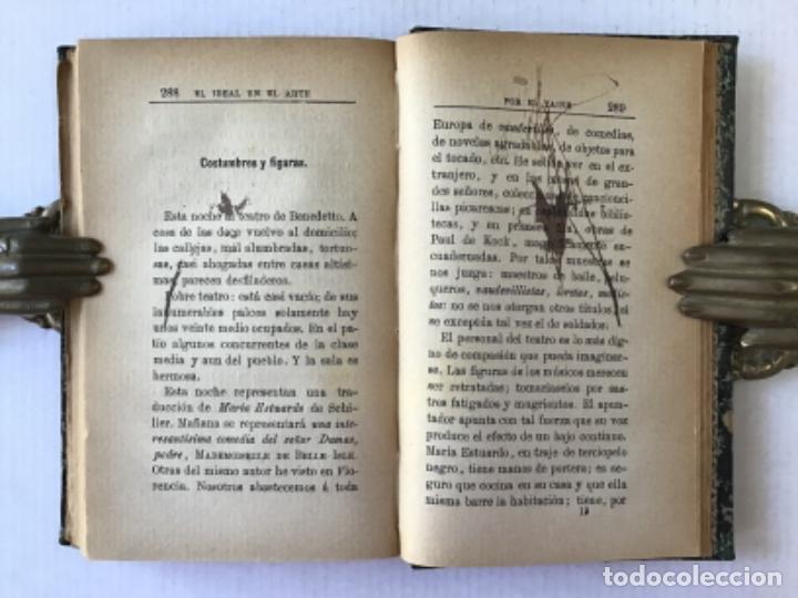 Libros antiguos: EL IDEAL EN EL ARTE. - TAINE, Hipólito. - Foto 5 - 123251147