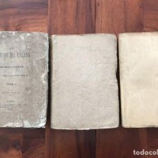 Libros antiguos: EMILIO CASTELAR. LA REDENCIÓN DEL ESCLAVO. MADRID, 1873, TRES TOMOS. OBRA COMPLETA.. Lote 279556043