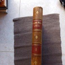 Libros antiguos: BIBLIOTECA ILUSTRADA DE GASPAR I ROIG. EN EL MAR. 1869. LA GRANJA EN EL DESIERTO...1870. 10 NOVELAS. Lote 280546358