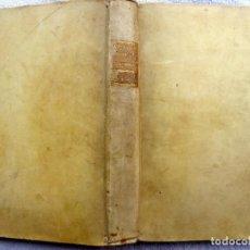 Libros antiguos: L-6064.LA BIBLIA. ANTIGUO TESTAMENTO EN GRABADOS. TOMO I, CON 101 GRABADOS FINAL S XVIII. PERGAMINO.. Lote 280838963