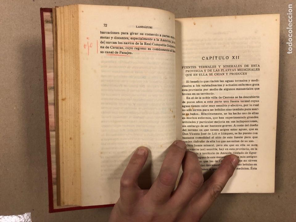 Libros antiguos: HISTORIA DE GUIPÚZCOA. JOSÉ JOAQUÍN DE LANDÁZURI. 2 TOMOS EN 1 VOLUMEN. 1921 IMP. VICENTE RICO - Foto 6 - 281937558